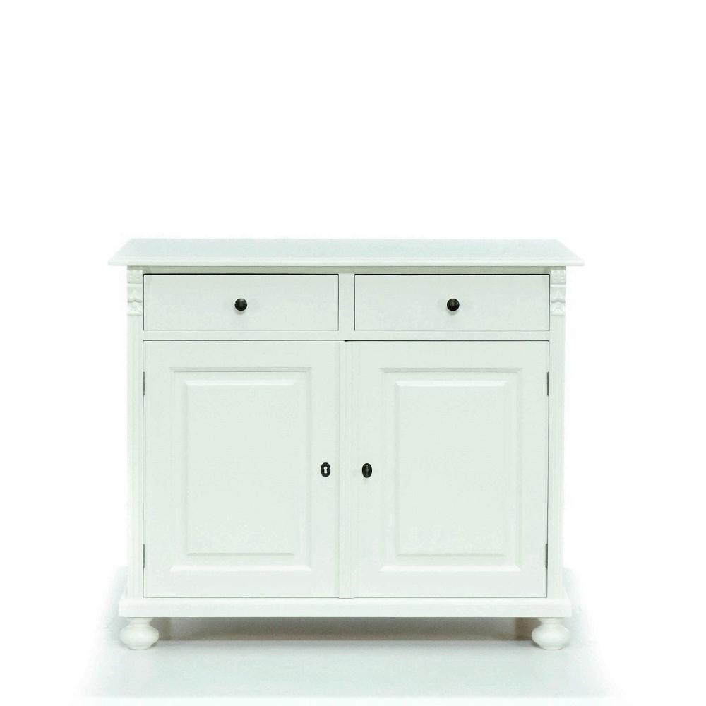 Malovaný a barvený nábytek Originální  komoda malovaná.