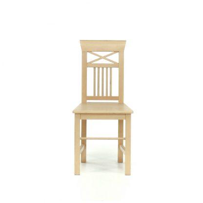 Rustikální buková židle.