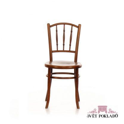 Repasovaná originální židle ve stylu Thonet