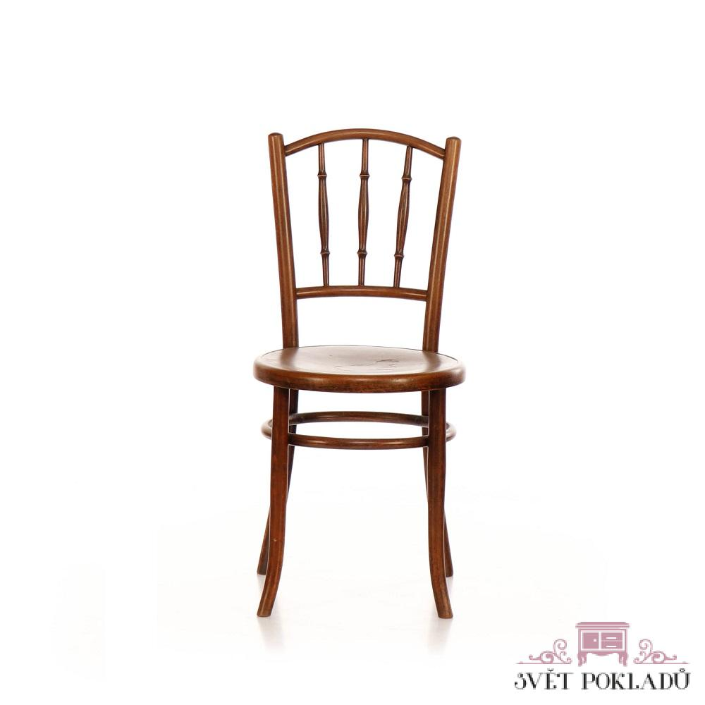 Repasovaná originální židle ve stylu Thonet Svět pokladů