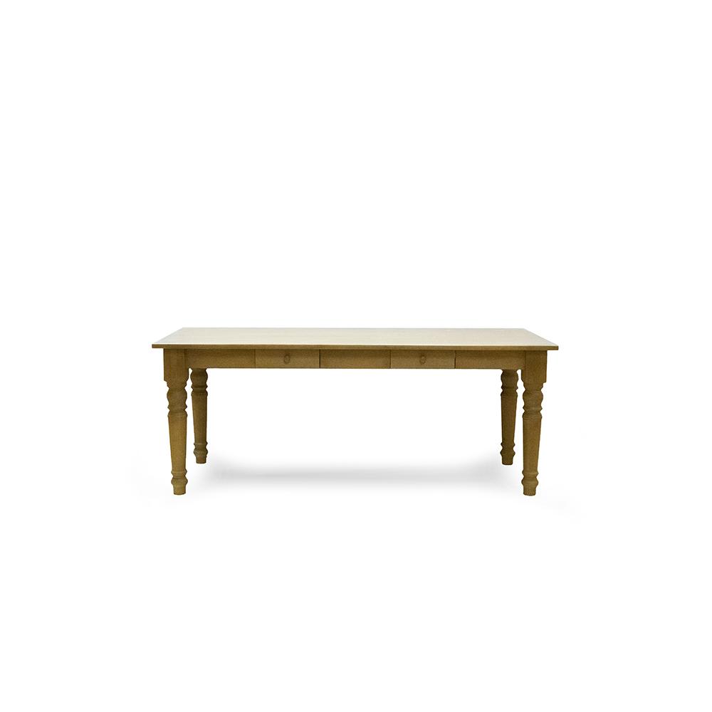 Selský stůl z masivu Svět pokladů